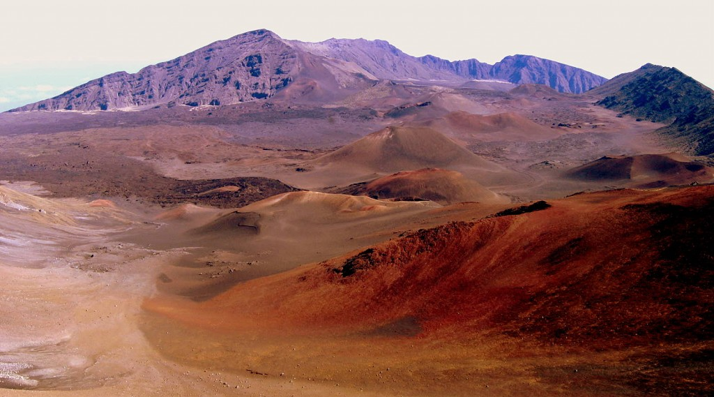 Haleakala, one of the places we can take you on our Mauai vacation packages.