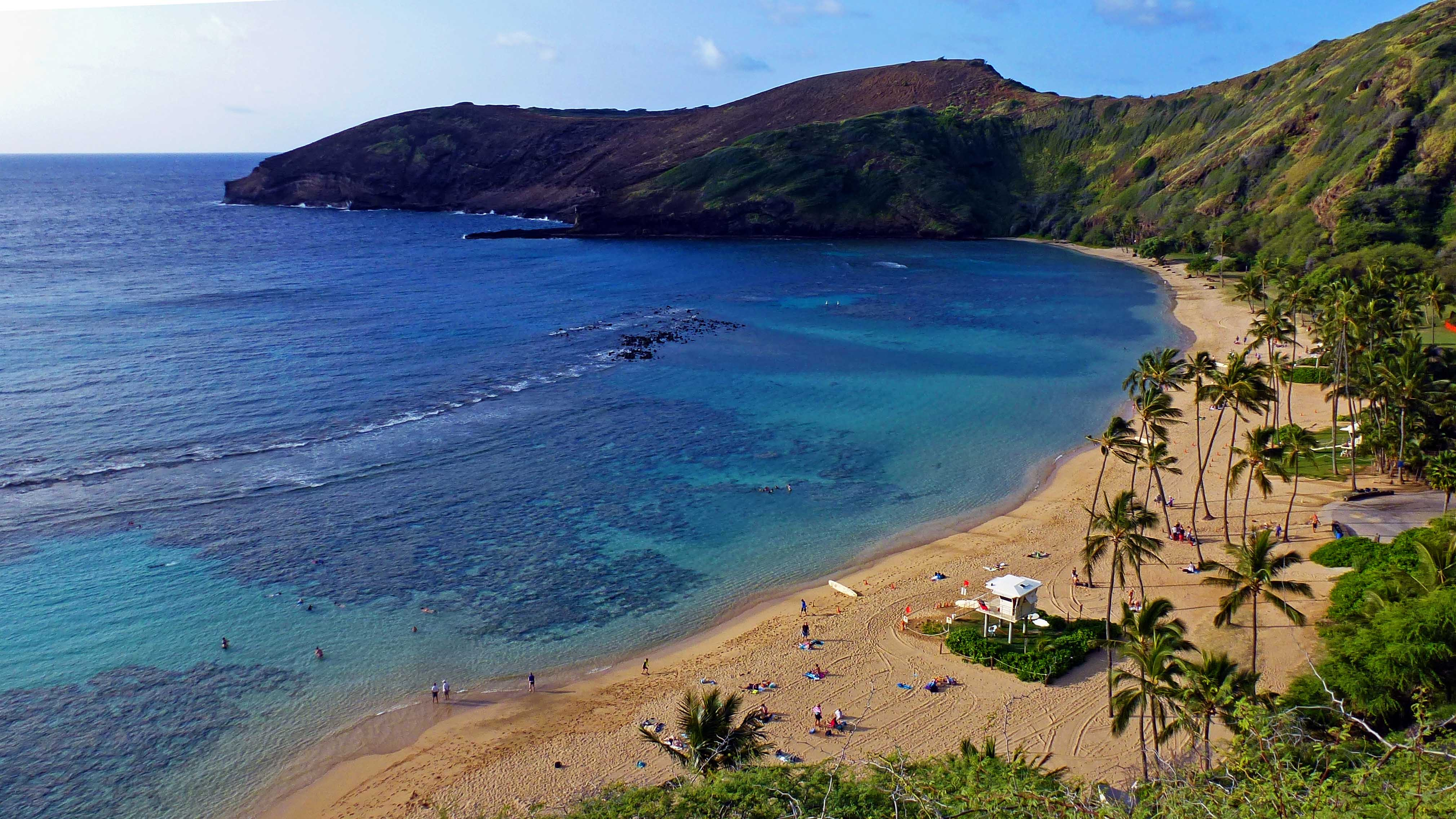 Hanauma Bay, the best beach in the USA