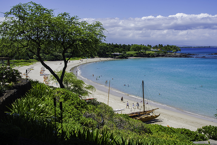 Mauna Kea Beach, one of the best Big Island beaches.