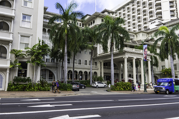 Another one of the historic Hawaii hotels.