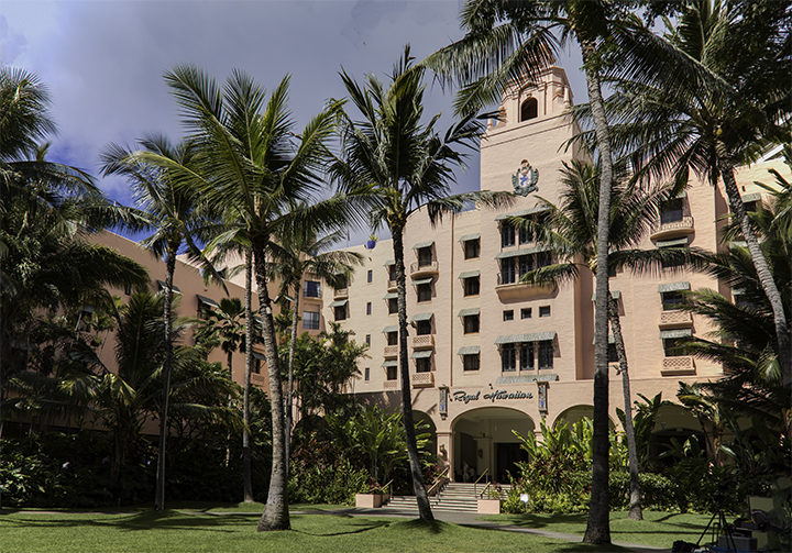 One of the historic Hawaii hotels.