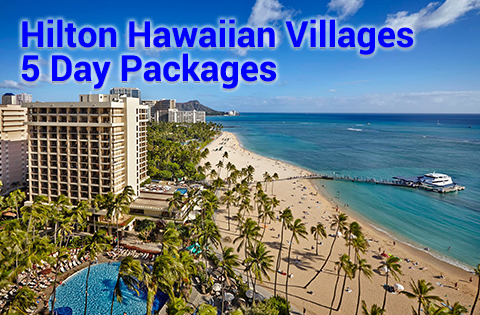Panda Travel Promotion Images - Hilton Hawaii Village 398x338