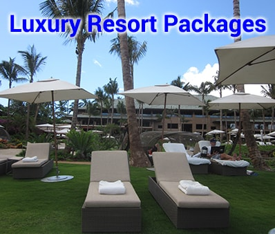 Luxury Resort Packages starting from $677 per person, double occupancy.