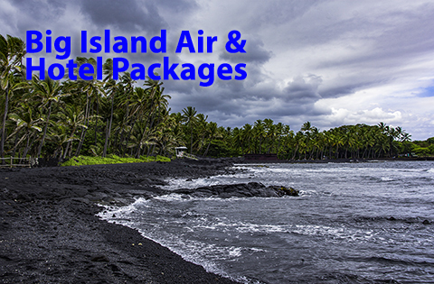 Big Island Air and Hotel Packages - B. Inouye