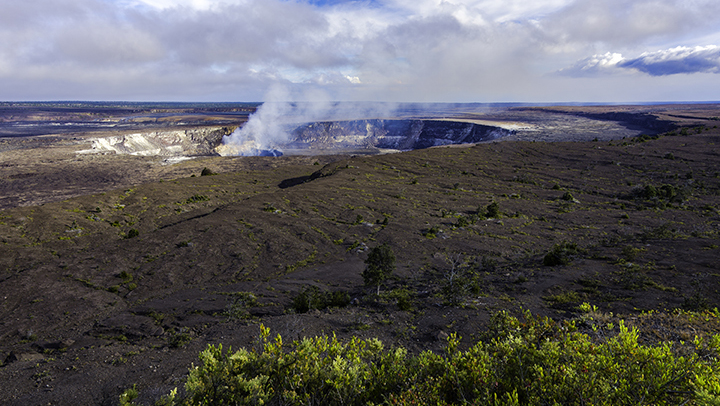 See Hawaii's most popular national park one our Big Island vacation packages.