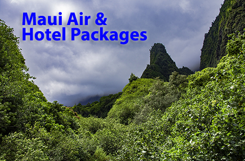 Maui Air and Hotel Packages - B. Inouye