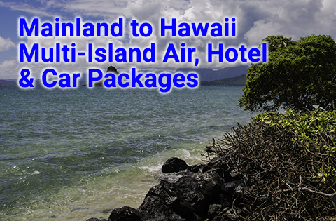 Airfare to Hawaii Multi Island Air, Hotel & Car Packages - B. Inouye