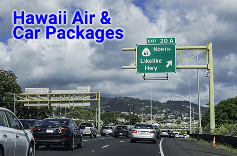 Hawaii Airfare & Car Packages - B. Inouye