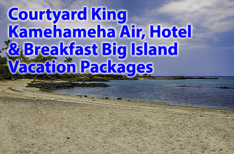 Courtyard King Kamehameha Air, Hotel & Breakfast Vacation Packages 480x315 - B. Inouye