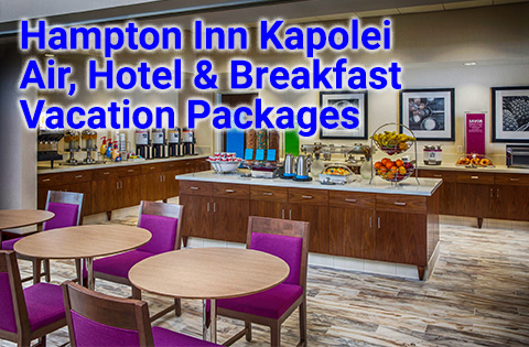 Hampton Inn Kapolei Oahu Vacation Packages - Aqua Aston Sales